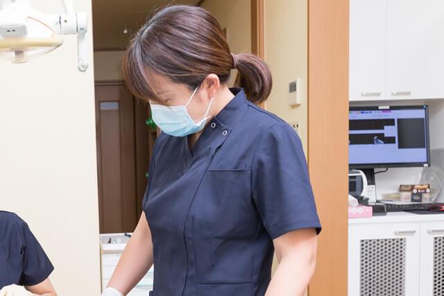 歯科助手 横田